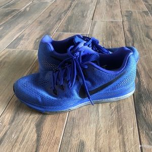 Nike zoom all out blue running shoes Men's SZ 10
